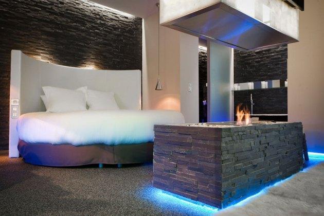 seven h tel paris ledbox. Black Bedroom Furniture Sets. Home Design Ideas