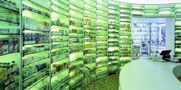 De lairesse apotheek amsterdam ledbox for Salon audiovisuel amsterdam