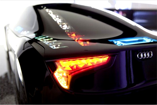 Audi Oled Lighting - 2b