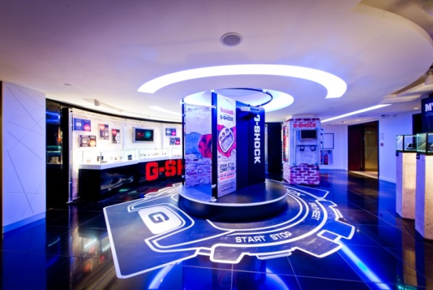 Casio Pop-Up Store - Londres - 1