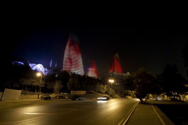 Flame Towers - Bakou - 10