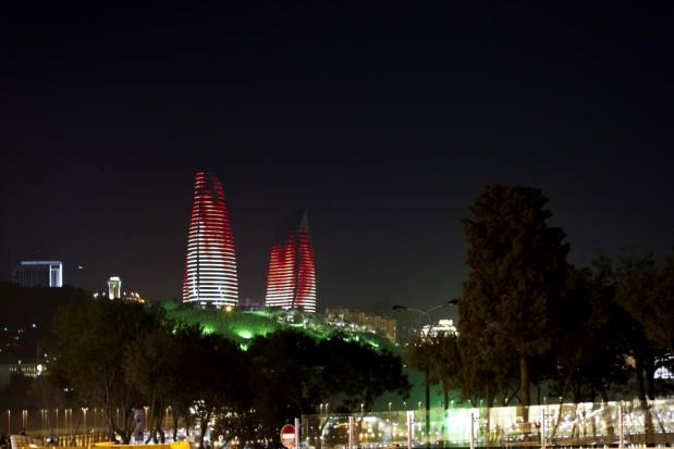 Flame Towers - Bakou - 4