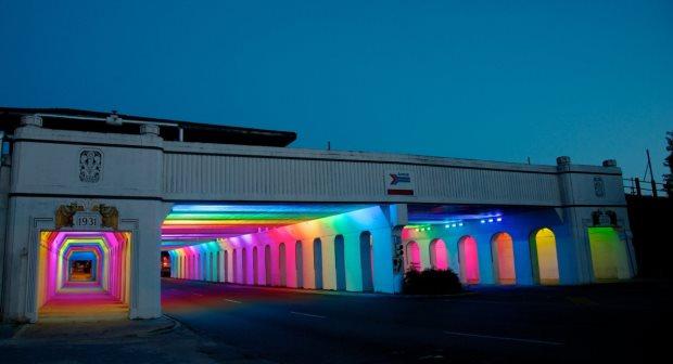 LightRails - Birmingham - 1