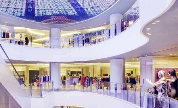 Galeries Lafayette - Pékin - 1a
