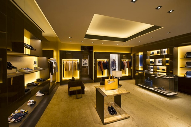 Fendi Men's Store - Hong Kong - 1b