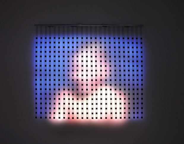 Jim Campbell - Bryce Wolkowitz Gallery 2014 - 3e