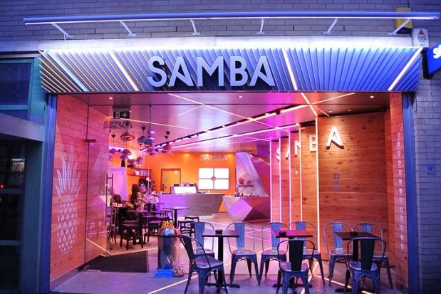 Samba Swirl - 1