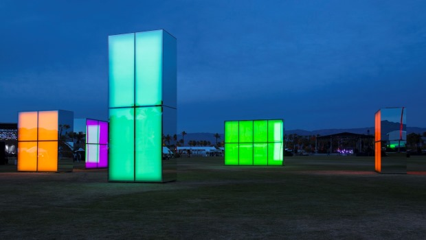 Reflexion Field - Phillip K Smith III - 1a