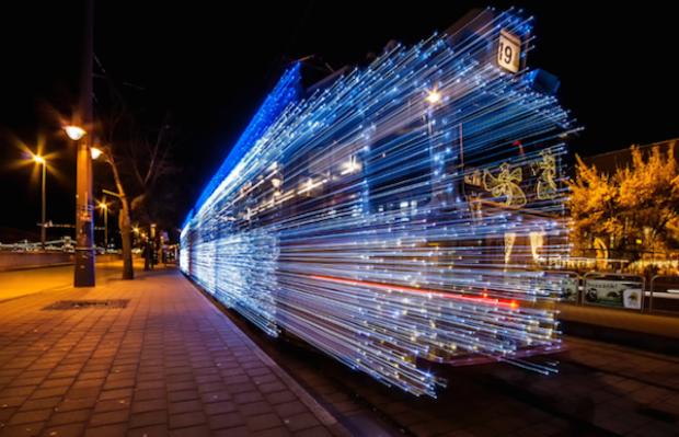 Light Trams Installation - 1