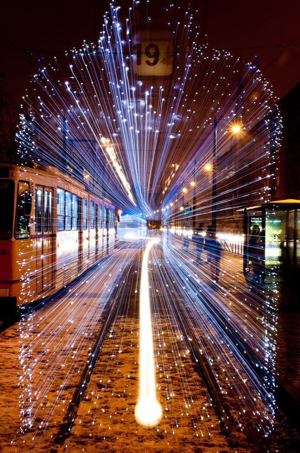 Light Trams Installation - 1b