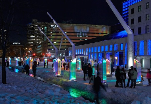Prismatica - Festival Luminothérapie 2014 - Montreal - 2