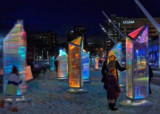 Prismatica - Festival Luminothérapie 2014 - Montreal - 3