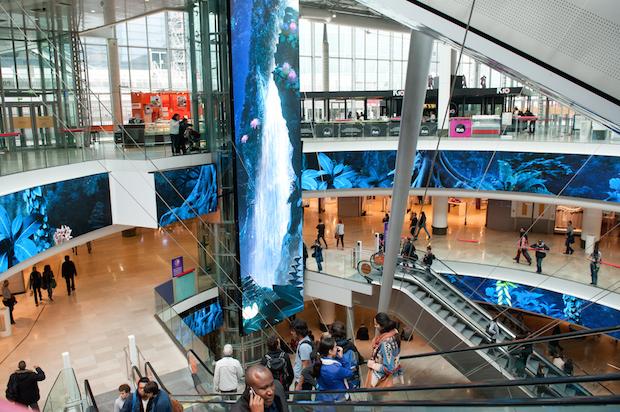 Centre Commercial - 4 Temps - 1e