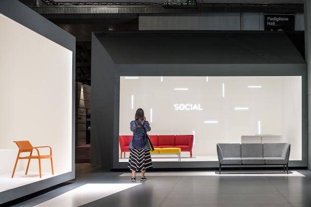Pedrali - Salone del Mobile 2015 - 2