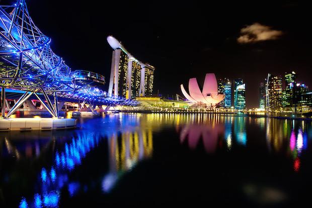 The Helix Bridge - Singapour - 6