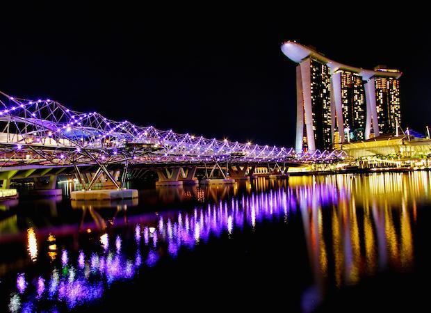 The Helix Bridge - Singapour - 8