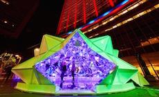 Light Origami – Vivid 2015 – Sydney