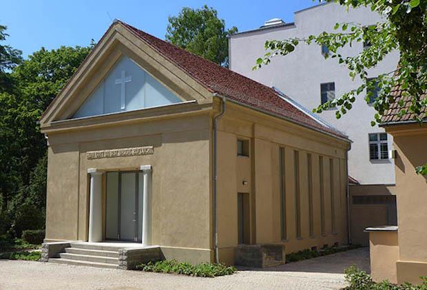 Chapelle du Cimetiere Memorial de Dorotheenstadt - 16