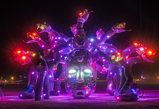 Medusa Madness at Burning Man 2016