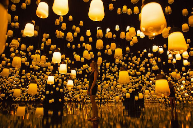 Forest of Resonating Lamps - 1