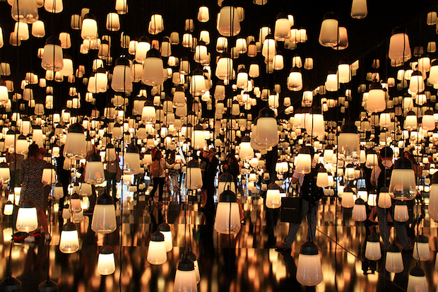 Forest of Resonating Lamps - 13