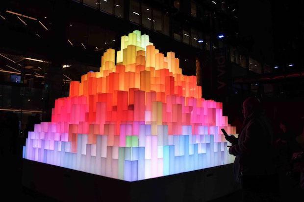 Mountain of Light – Vivid 2016 – Sydney