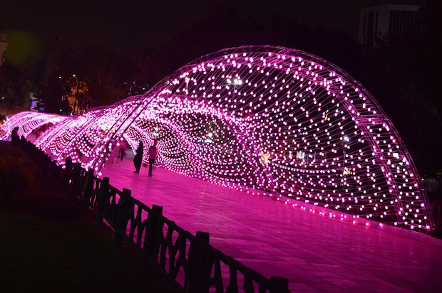 Tunnel Lumineux – Parc Mellat – Téhéran