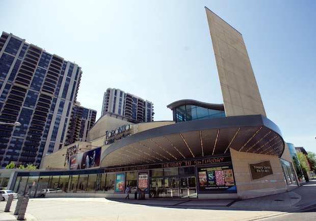 CI-NEWCAMPUS17 12-05-17 - TORONTO, ONTARIO - Toronto City Councillor is proposing a new university campus at North York Civic Centre. Next door is the Toronto Centre for the Arts, another venue which might be included in the plans. (RICK MADONIK/TORONTO STAR)