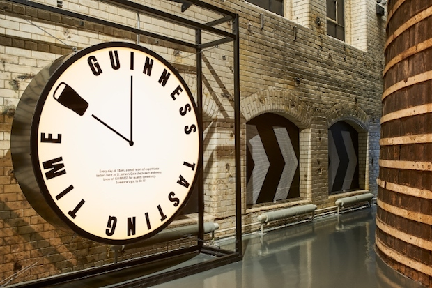Guinness Storehouse Brewing Floor